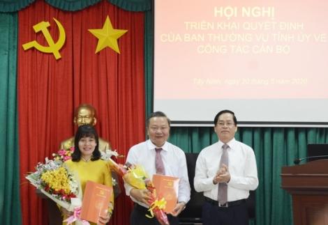 Điều động, bổ nhiệm cán bộ lãnh đạo Ban Tuyên giáo và Ban Nội chính Tỉnh ủy