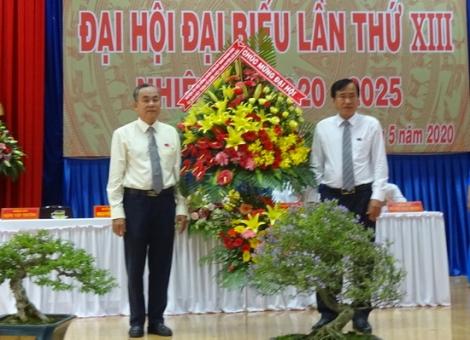Đại hội Đảng bộ thị trấn Gò Dầu lần thứ XIII, nhiệm kỳ 2020-2025