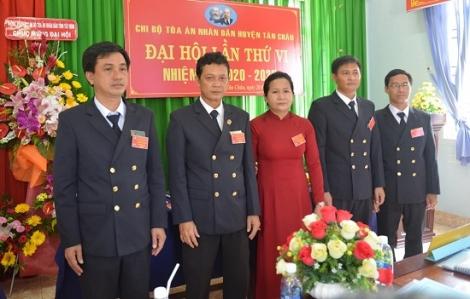 Chi bộ Tòa án nhân dân huyện Tân Châu đại hội lần thứ VI nhiệm kỳ 2020- 2025