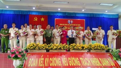 Đại hội Đảng bộ Công an Thành phố Tây Ninh lần thứ VII nhiệm kỳ 2020-2025