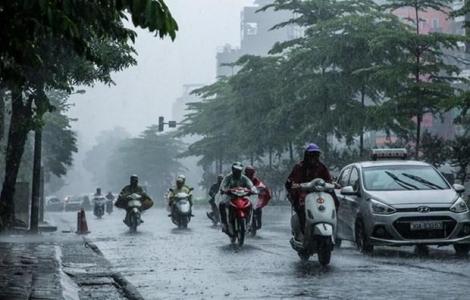 Chiều tối và đêm 20/5, cả nước có mưa, đề phòng thời tiết cực đoan