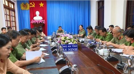 Bộ Công an thông báo nhanh kết quả Hội nghị lần thứ 12 Ban Chấp hành Trung ương Đảng