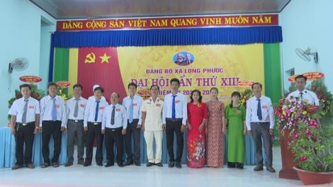 Đảng bộ xã Long Phước tổ chức thành công đại hội nhiệm kỳ 2020-2025