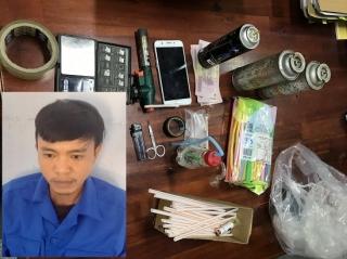 CA Dương Minh Châu tạm giữ hình sự đối tượng mua bán ma túy