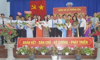 Đại hội Đại biểu Đảng bộ xã Trường Hòa, nhiệm kỳ 2020 – 2025