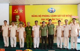 Đảng bộ Phòng Cảnh sát Cơ động Công an Tây Ninh Đại hội lần thứ VI nhiệm kỳ 2020 - 2025