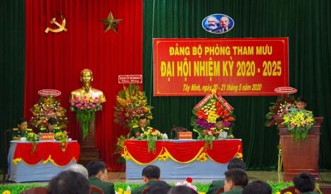 Đảng bộ Phòng Tham mưu, Sư đoàn 5 tổ chức Đại hội Đại biểu nhiệm kỳ 2020 - 2025