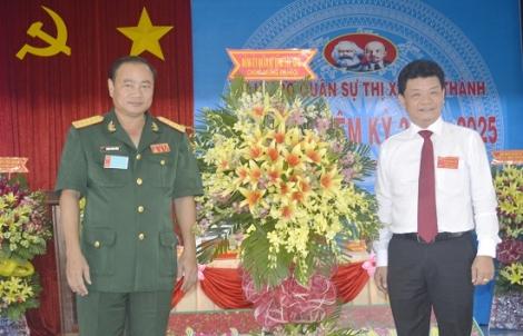 Đại hội Đảng bộ Quân sự thị xã Hòa Thành nhiệm kỳ 2020 – 2025