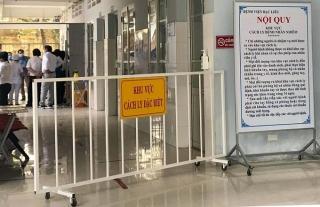 Sở Y tế Bạc Liêu bị kiểm điểm