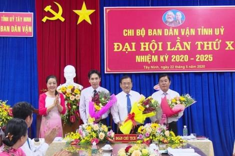 Các đảng bộ, chi bộ tổ chức Đại hội Đảng nhiệm kỳ 2020-2025