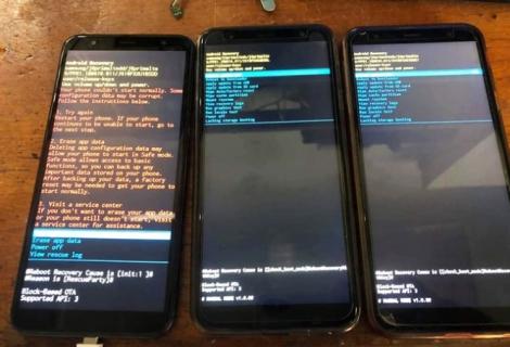Điện thoại Samsung tại Việt Nam gặp lỗi lạ