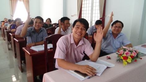 TP.Tây Ninh: Lấy ý kiến đóng góp cho dự thảo văn kiện trình Đại hội Đảng các cấp