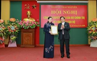 Đồng chí Nguyễn Thanh Hải giữ chức Bí thư Tỉnh ủy Thái Nguyên