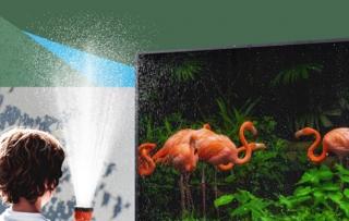 Samsung ra TV 4K chống nước