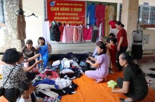 Phường Long Thành Trung: Tổ chức gian hàng 2.000 và trao học bổng Trần Thị Sanh