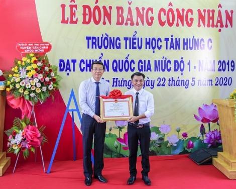 Tân Châu: Thêm 2 trường được công nhận đạt chuẩn quốc gia