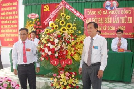 Đảng bộ xã Phước Đông đại hội  lần thứ XII, nhiệm kỳ 2020-2025