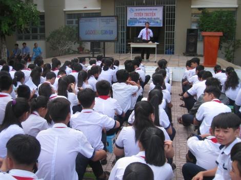 Tuyên truyền phòng, chống tai nạn đuối nước cho học sinh