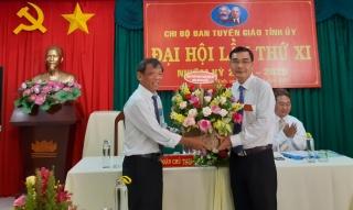 Chi bộ Ban Tuyên giáo Tỉnh uỷ tổ chức Đại hội lần thứ XI