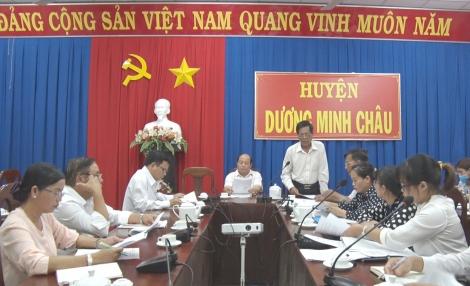 HĐND huyện Dương Minh Châu giám sát tình hình thực hiện CCHC giai đoạn 2018-2019
