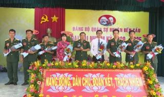 Đảng bộ Quân sự huyện Bến Cầu Đại hội nhiệm kỳ 2020-2025 thành công tốt đẹp