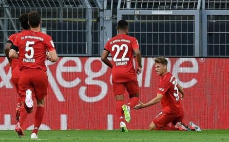 Bayern hạ Dortmund