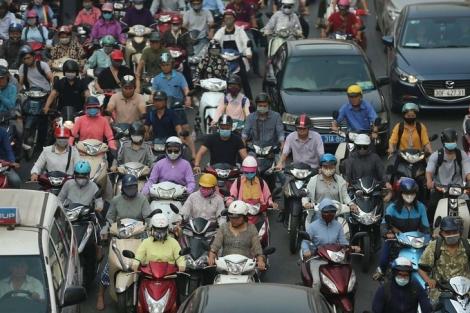Bộ Giao thông Vận tải vẫn đề xuất xe máy phải bật đèn nhận diện