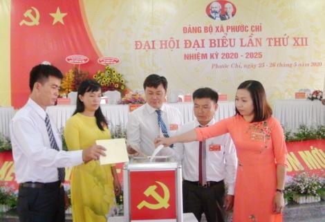 Bế mạc Đại hội Đảng bộ xã Phước Chỉ, thị xã Trảng