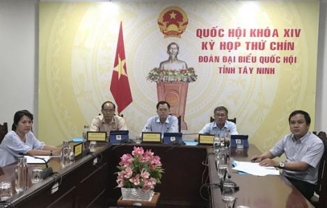 Quốc hội thảo luận trực tuyến góp ý các dự án Luật sửa đổi, bổ sung một số điều của Luật Tổ chức Quốc hội và Luật Đầu tư (sửa đổi)
