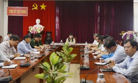 Tổ chức Hội nghị báo cáo viên trực tuyến