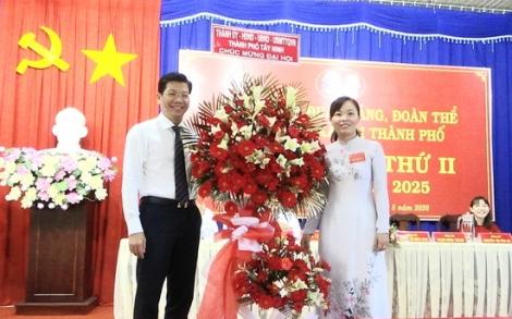 Đại hội Đảng bộ cơ quan Đảng, đoàn thể chính trị - xã hội thành phố lần thứ II nhiệm kỳ 2020-2025