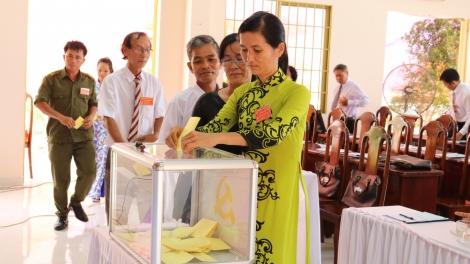 Xã Phước Trạch tổ chức thành công đại hội Đảng bộ lần thứ XIII, nhiệm kỳ 2020 – 2025