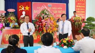 Đảng bộ xã Bàu Đồn tổ chức Đại hội lần thứ XV, nhiệm kỳ 2020- 2025