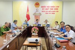Quốc hội kết thúc đợt họp trực tuyến Kỳ họp thứ 9, khóa XIV