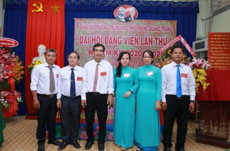 Đảng bộ Trường THPT Quang Trung Đại hội lần thứ I, nhiệm kỳ 2020- 2025.