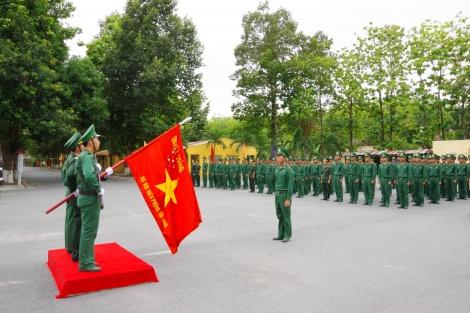 Biên phòng Tây Ninh tổ chức Lễ tuyên thệ cho chiến sĩ mới