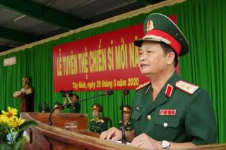 Lễ Tuyên thệ chiến sĩ mới năm 2020