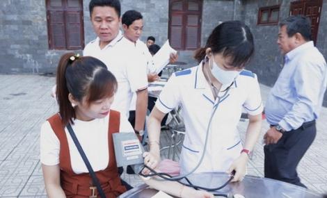 """TAND Tây Ninh: Tổ chức ngày hiến máu tình nguyện """"Những giọt máu hồng"""""""