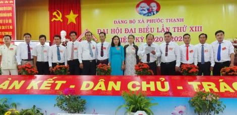 Đại hội Đảng bộ xã Phước Thạnh lần thứ XIII, nhiệm kỳ 2020-2025