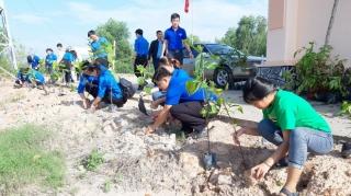 """Tuổi trẻ Bến Cầu và Đoàn khối Cơ quan-Doanh nghiệp tổ chức hoạt động ngày """"Chủ nhật xanh"""""""