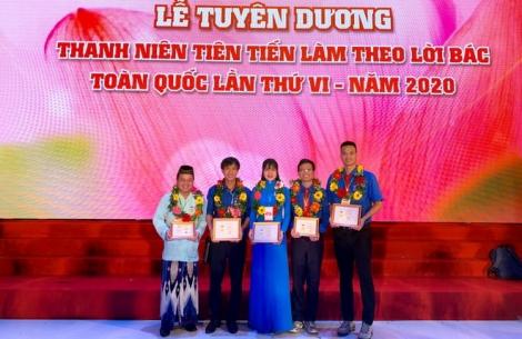 Tây Ninh có 5 đại biểu thanh niên tham dự Đại hội Thanh niên tiên tiến làm theo lời Bác lần thứ VI, năm 2020