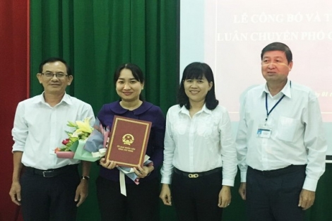 PGĐ Sở Nội vụ nhận công tác mới tại Huyện uỷ Gò Dầu