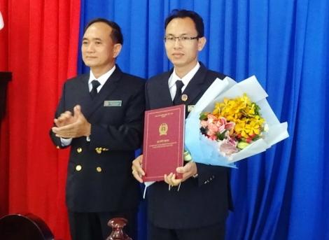 Bổ nhiệm mới Phó Chánh án TAND Gò Dầu