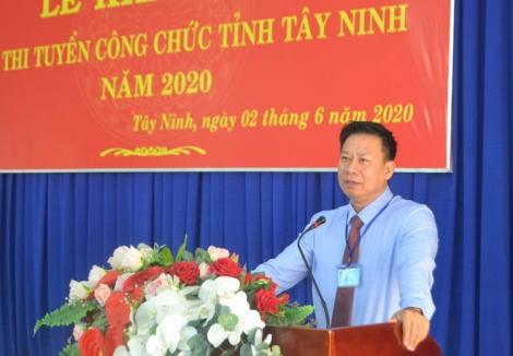Tây Ninh: 324 thí sinh thi tuyển công chức năm 2020