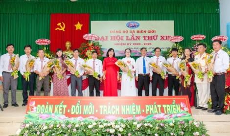 Đại hội Đảng bộ xã Biên Giới lần thứ XII nhiệm kỳ 2020-2025