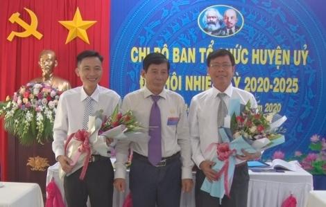 Chi bộ Ban Tổ chức Huyện ủy Tân Biên đại hội nhiệm kỳ 2020-2025