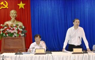 UBND tỉnh làm việc với Thành phố Tây Ninh
