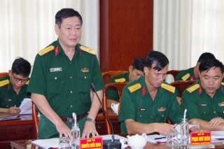 Đảng uỷ Sư đoàn 5: Tổng kết công tác kiểm tra, giám sát và kỷ luật của Đảng nhiệm kỳ 2015-2020