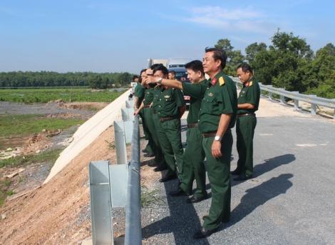 Quân khu 7: Khảo sát xây dựng Điểm dân cư liền kề đồn, trạm biên phòng ở Tây Ninh
