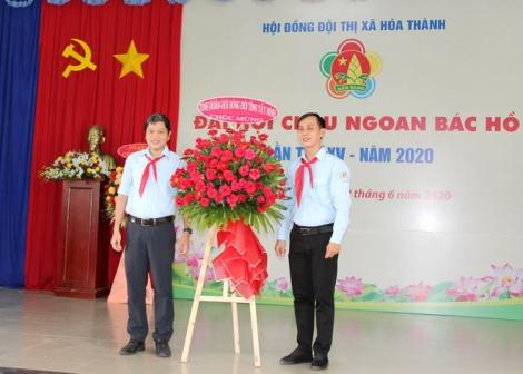 Thị xã Hòa Thành: Tổ chức Đại hội Cháu ngoan Bác Hồ lần thứ XV